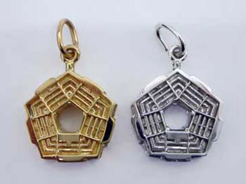 David Mann Pentagon Charms