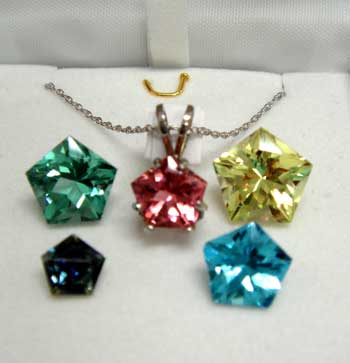 David Mann Pentagon Gemstones